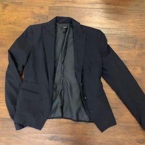Ann Taylor navy blazer/suit jacket